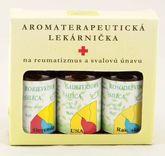 Aromaterapeutická lekárnička na revmatizmus a svalovou únavu