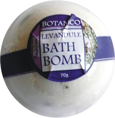 bomba do koupele - LEVANDULE  70g koupelová koule šumivá levandule - Procyon