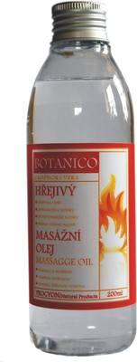 Masážní olej - HŘEJIVÝ 200mlMasážní oleje - Procyon