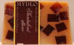 Křišťálové glycerinové mýdlo - santalové dřevo 100g