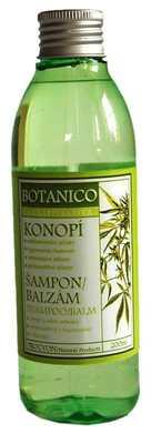 Konopí - šampon + balzám pro lepší růst vlasů 200ml