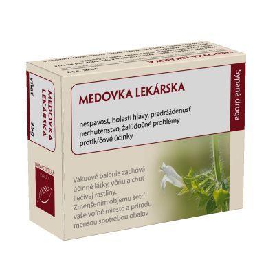 Meduňka lékařská -  nať vakuovaná bylinka 45gV náruči přírody