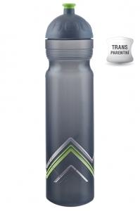 Zdravá lahev BIKE - Hory zelená 1 l